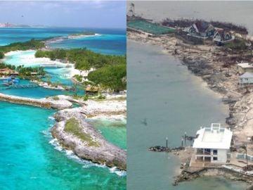Bahamas, antes y después