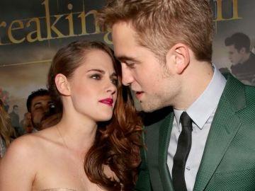 Kristen Stewart y Robert Pattinson en la premiere de 'Amanecer - Parte 2'