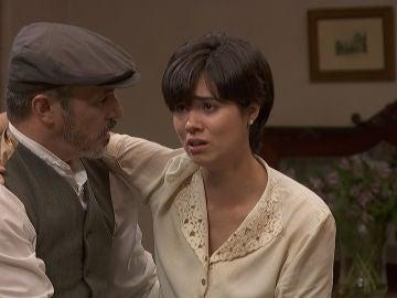 María, Alfonso y Emilia en 'El secreto de Puente Viejo'