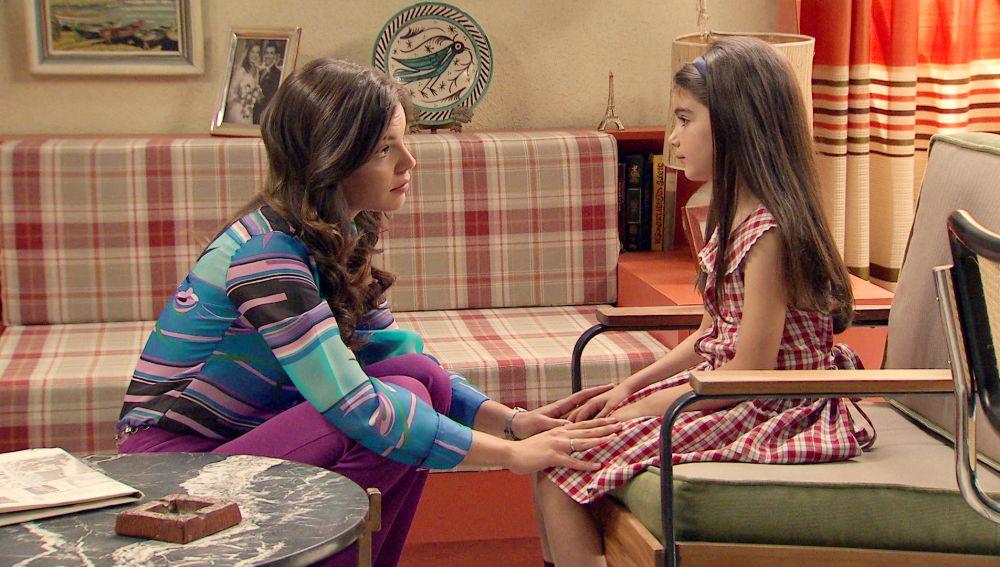 María y Alicia en 'Amar es para siempre'