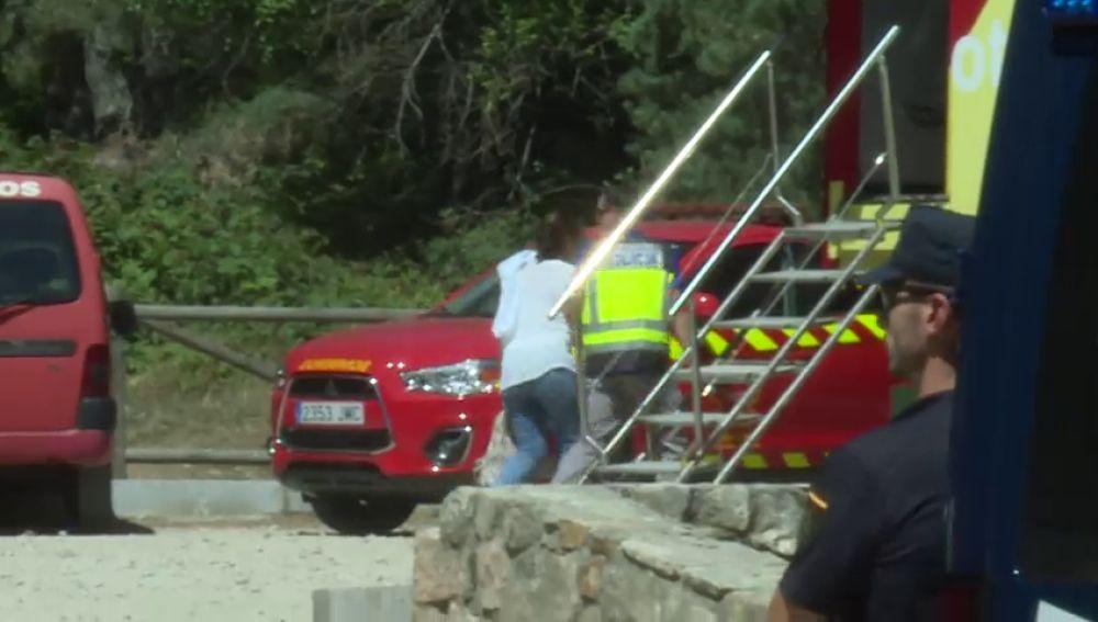 La policía científica y el juez de Collado Villalba investigan la muerte de Blanca Fernández Ochoa