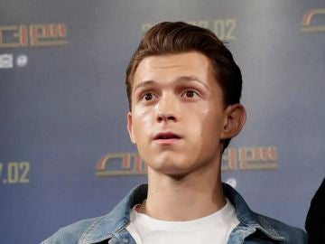 Tom Holland en la promoción de 'SpiderMan: Lejos de Casa'