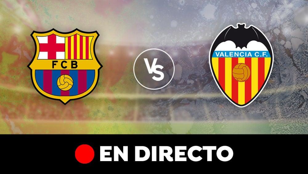 Barcelona - Valencia: Resultado del partido de hoy de la Liga Santander, en directo