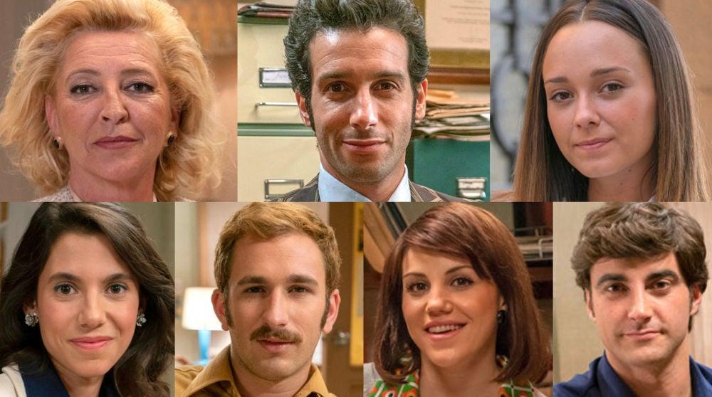 Los actores que abandonan se despiden, muy agradecidos, de 'Amar es para siempre'