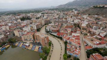 El temporal en Alicante de la gota fría