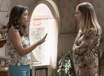 Amelia y Luisita en en comienzo de la octava temporada de 'Amar es para siempre'