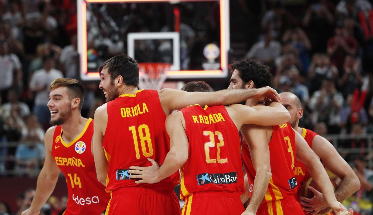 España gana el oro