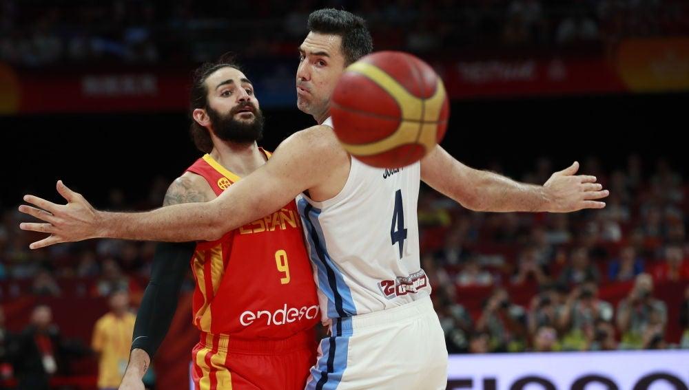 Final del Mundial de Baloncesto entre España y Argentina