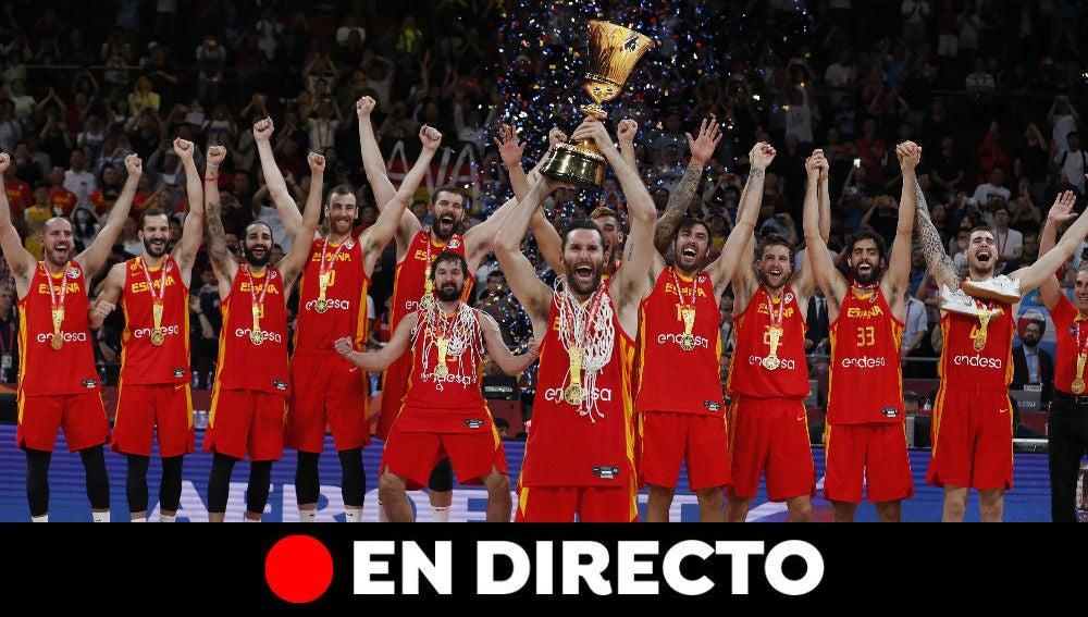 España gana el Mundial de Baloncesto de China 2019: Resultado y recciones, en directo