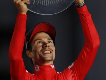 Primoz Roglic, ganador de La Vuelta