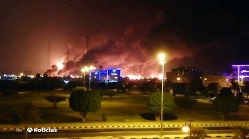 El precio del petróleo se dispara más de un 10% tras el ataque a la refinería en Arabia Saudí