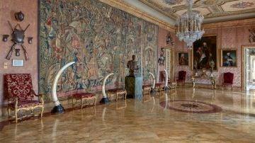 Salón estuardo del Palacio de Liria