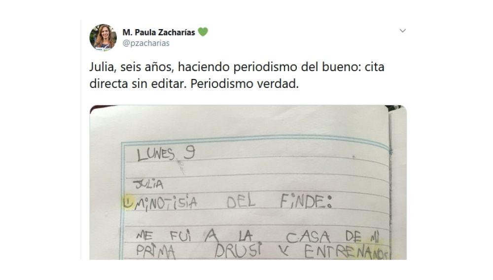 El tuit viral de @pzacharias