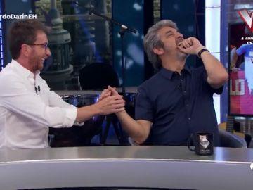 La irónica felicitación de Pablo Motos a Ricardo Darín