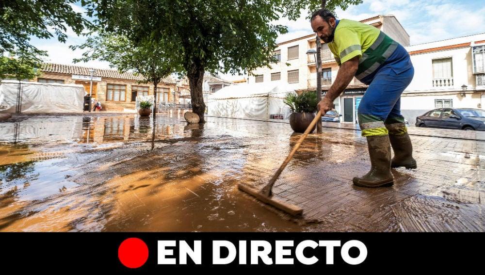 DANA: Últimas noticias de las lluvias provocadas por la gota fría en España, en directo