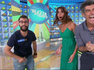 El espectacular truco de magia de Nacho en 'La ruleta de la suerte'