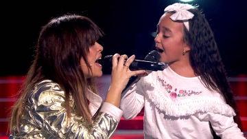 Vanesa Martín y Manuela Gómez cantan 'Aún no te has ido' en las Audiciones a ciegas de 'La Voz Kids'