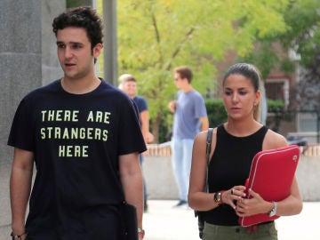 Froilán y su novia, Mar Torres, comienzan juntos las clases en la universidad
