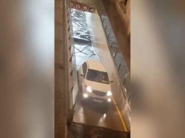 Una tormenta descarga más de 30 litros en Valladolid