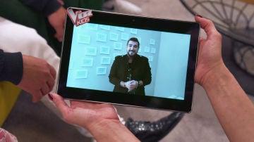 Antonio Orozco manda un bonito mensaje de cariño para Alison Fernández en 'La Voz Kids'