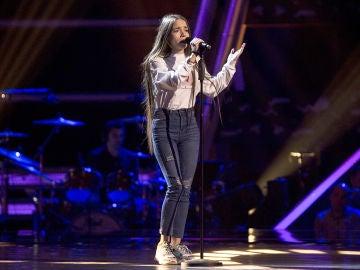 Sara Gálvez canta 'Toda una vida' en las Audiciones a ciegas de 'La Voz Kids'