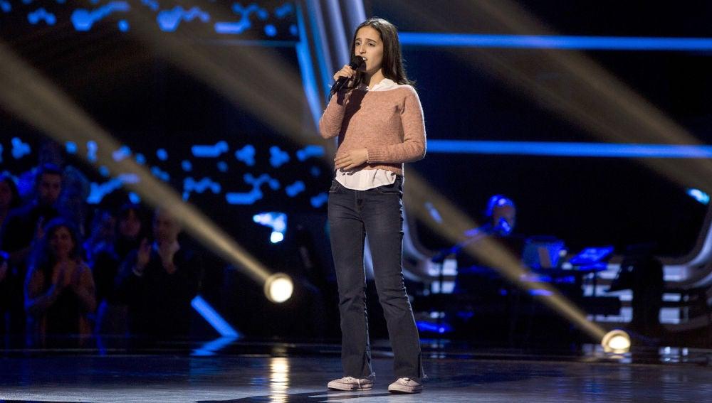 Berta Luna canta 'The second star to the right' en las Audiciones a ciegas de 'La Voz Kids'