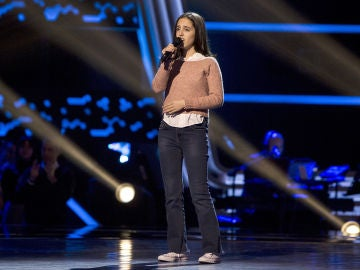 Berta Luna canta 'The second star to the right' en las Audiciones a ciegas de 'La Voz Kids'