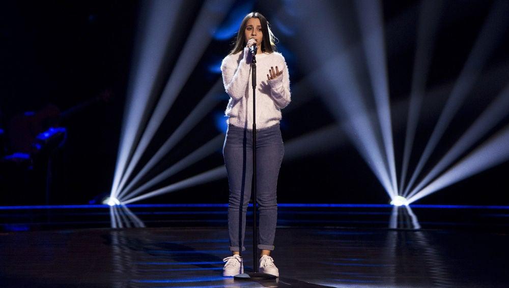 Laura Valle canta 'I will be' en las Audiciones a ciegas de 'La Voz Kids'