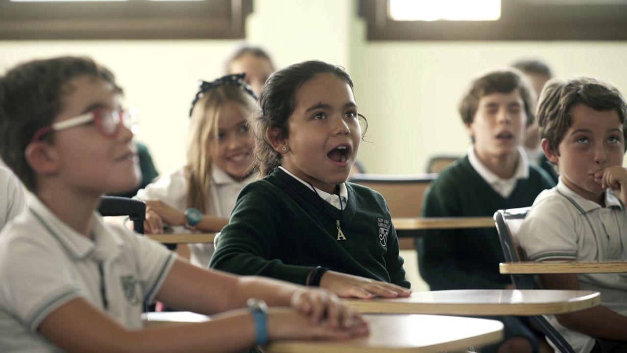 El vídeo completo de la increíble sorpresa de David Bisbal a unos niños de un colegio de Madrid