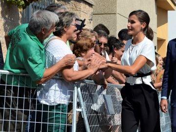 La Reina Letizia inaugura el curso escolar en Extremadura