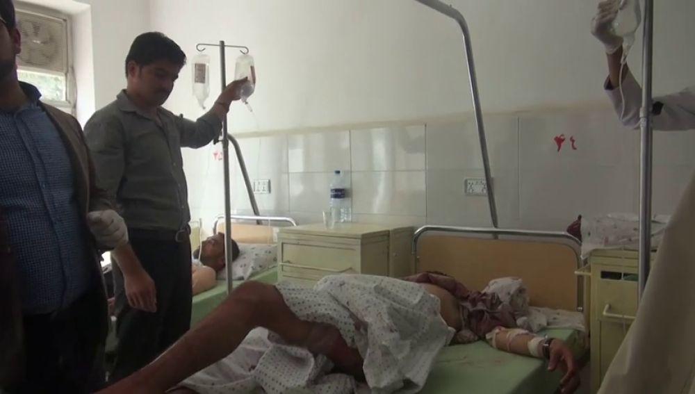 Medio centenar de muertos en dos atentados de los talibán en Afganistán