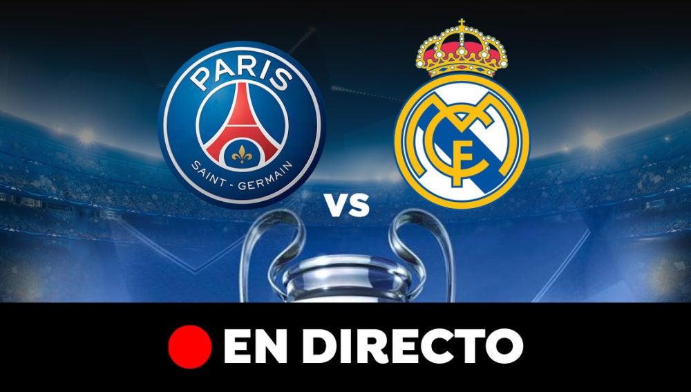 PSG - Real Madrid: Partido de hoy de Champions League y resultado, en directo