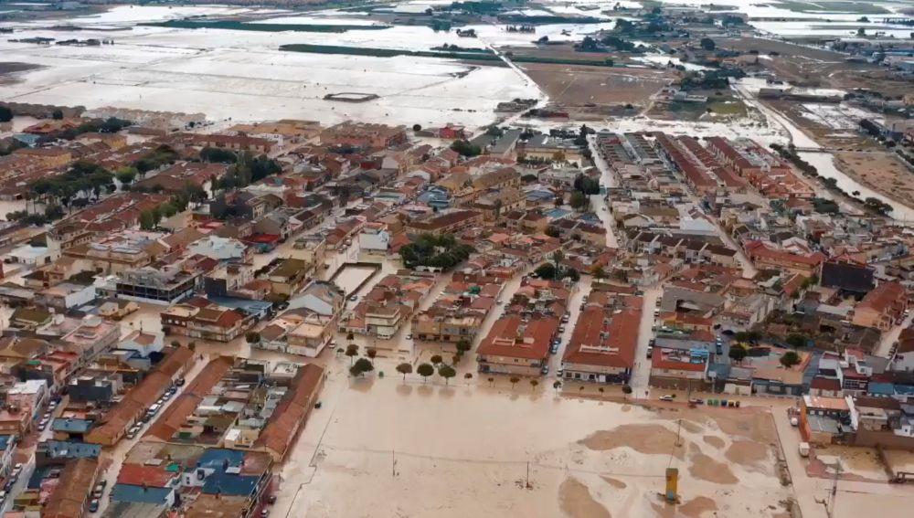 Fotografía aérea facilitada por el Ayuntamiento de Torre Pacheco