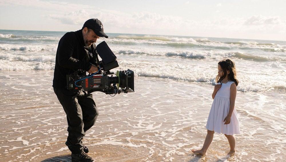 Imágenes del rodaje de 'Perdida'