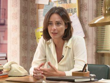 """Luz Valdenebro: """"Cristina está a pie de cañón en una época bastante convulsa"""""""