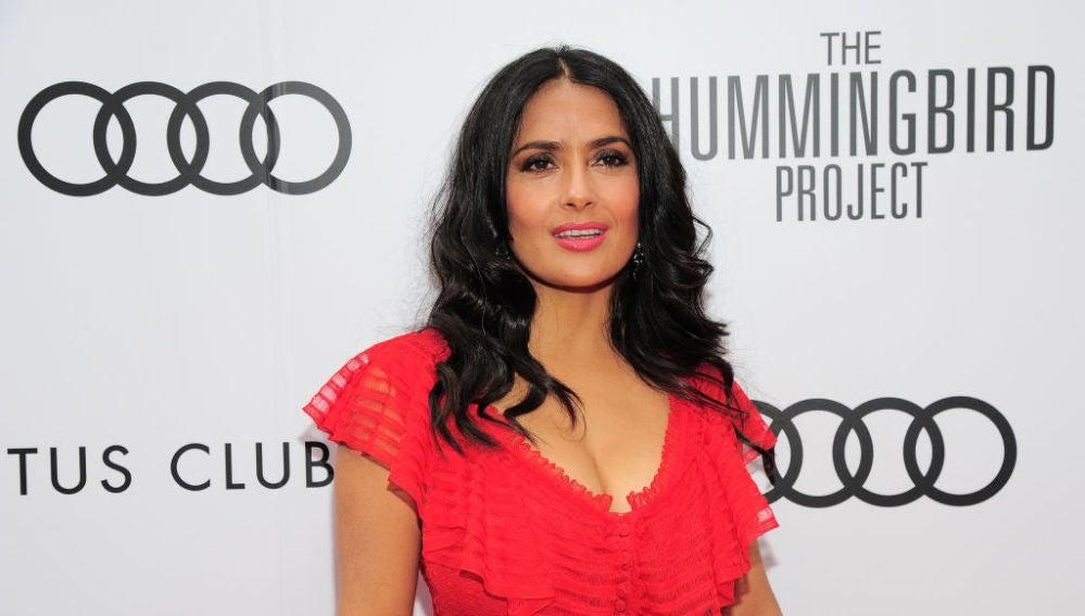 La actriz Salma Hayek, en una imagen de archivo.
