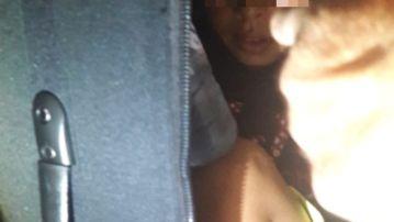Niño oculto en una maleta para introducirlo ilegalmente en España