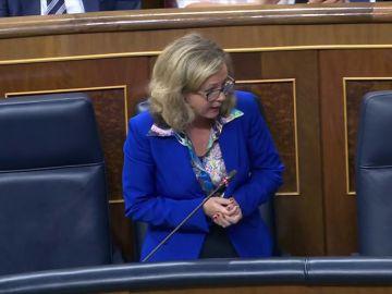 """La ministra de Economía Nadia Calviño reconoce que el """"otoño será muy complicado"""" y los empresarios piden estabilidad"""