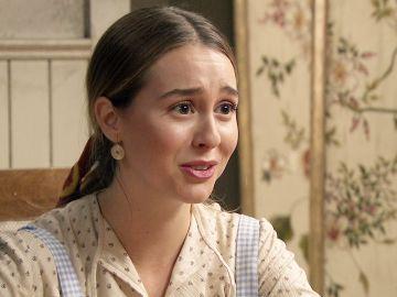 'Amar es para siempre': Una buena noticia alegra el día a Luisita, Amelia le ha encontrado un trabajo