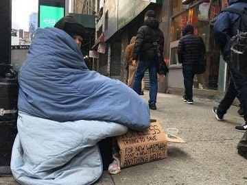Miles de personas dormirán a la intemperie en pleno mes de diciembre por las personas sin hogar