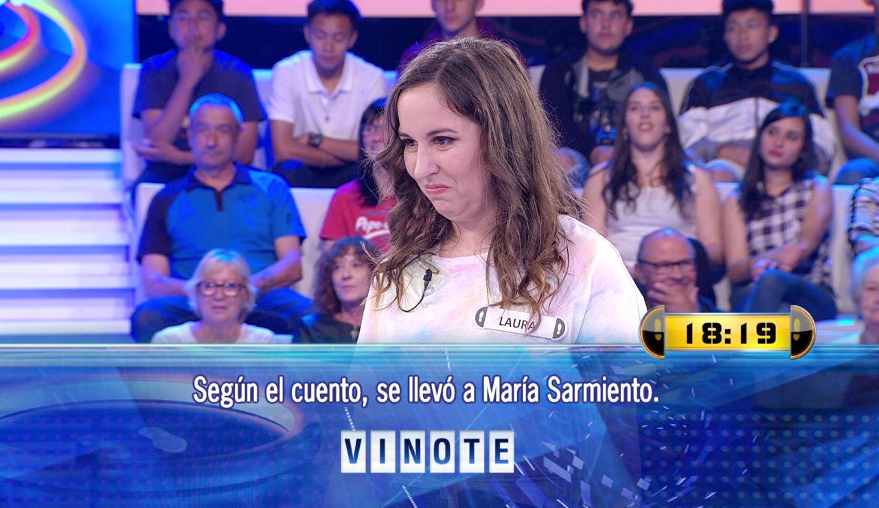 """La obvia pregunta que ha tirado a una concursante en '¡Ahora caigo!' que deja a Arturo Valls descolocado: """"Que duro caer con esta pregunta"""""""