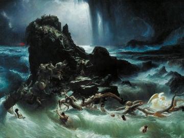"""El diluvio"" de Frank Danby (Tate)"
