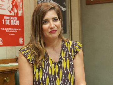 """Lucía Jiménez: """"Al principio de la temporada hay una bomba que estalla y hace que todo vaya a cambiar"""""""