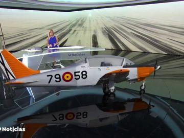 Un instructor y su alumna mueren al caer su avioneta del Ejército del Aire en el Mar Menor