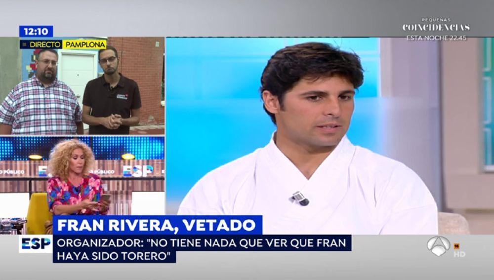 Fran Rivera, vetado