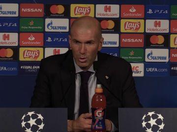 """Zidane señala """"el problema"""" del Real Madrid en París: """"Me molesta"""""""