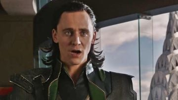 Tom Hiddleston como Loki en Vengadores