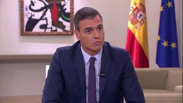 """Pedro Sánchez: """"Errejón ha dicho que hubiera aceptado la propuesta que le hicimos a Podemos"""""""