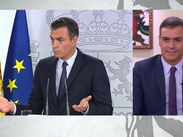 """Pedro Sánchez, sobre sus 15 segundos de silencio en rueda de prensa:  """"No entendí la pregunta"""""""