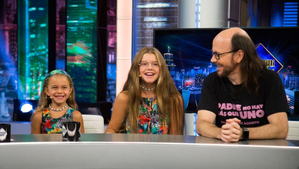 Las hijas de Santiago Segura visitan a su padre por sorpresa en 'El Hormiguero 3.0'
